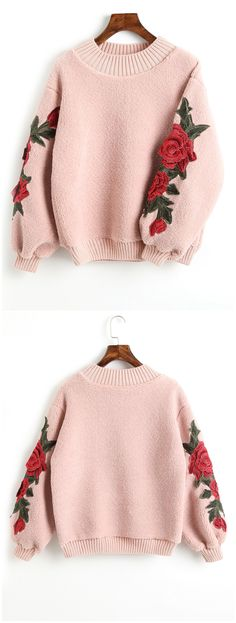 Up to 68% OFF! Floral Appliques Ribbed Hem Shearling Sweatshirt. #Zaful #hoodies Zaful,zaful sweaters,zaful outfits,fashion,style,tops,outfits,blouses,sweatshirts,hoodies,cardigan,sweater,cute sweatshirt,floral hoodie,cropped hoodies,pearl sweatshirt,fall,winter,winter outfits,winter fashion,fall fashion,fall outfits,Christmas,ugly,ugly Christmas,Thanksgiving,gift,Christmas hoodies @zaful Extra 10% OFF Code:ZF2017
