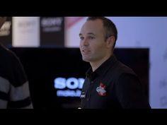 Andrés Iniesta, nuevo dependiente de la Sony Store