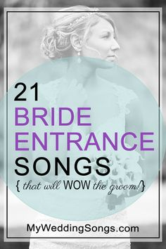 wedding songs 21 Bride Entrance Songs That Are Sure to Wow the Groom Country Wedding Songs, Wedding Song List, Best Wedding Songs, Wedding Playlist, Wedding Music, Modern Wedding Songs, Christian Wedding Songs, Country Weddings, Wedding Ceremony Entrance Songs