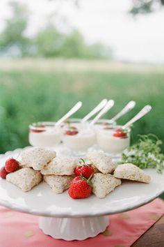 sweet strawberries + scones | The McCartneys