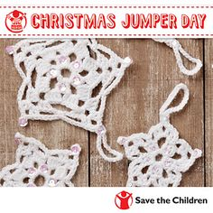Crochet Snowflakes | Free pattern via Ravelry