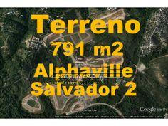 Terreno a venda em Alphaville Salvador 2, 791 m²
