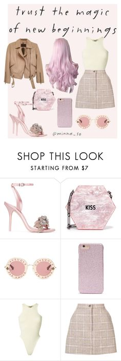 """""""🚺Magic🌟"""" by fanila69140 ❤ liked on Polyvore featuring TC Fine Intimates, Sophia Webster, Edie Parker, Gucci, Forever 21, Yeezy by Kanye West, Natasha Zinko and AllSaints"""