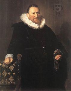 Nicolaes Woutersz van der Meer by Frans Hals Date: 1631