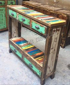 Best Indoor Garden Ideas for 2020 - Modern Recycled Furniture, Colorful Furniture, Recycled Wood, Rustic Furniture, Pallette Furniture, Chalk Paint Furniture, Wooden Chair Plans, Diy Bedroom Decor, Diy Home Decor