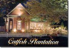 Catfish Plantation Waxahachie, Texas (I have wanted to eat here for years, but I haven't done it yet!!)