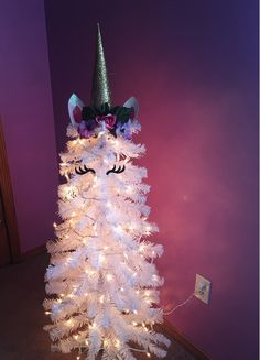 Unicorn DIY Unicorn Christmas Tree