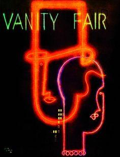 FRANCE: Jean Carlu (1900-89),  Vanity Fair Cover, 1930.