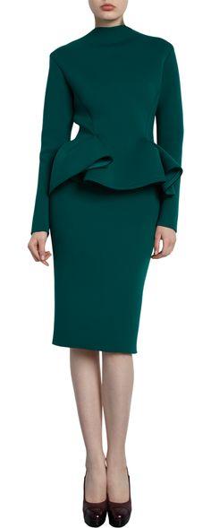 LANVIN  Peplum Dress