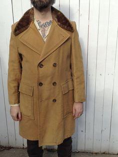 Victorian Fashion, Vintage Fashion, Vintage Style, Edwardian Costumes, Altered Carbon, Camel Coat, Fur Collars, Fur Trim, Sport Coat