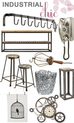 Industrial Chic from @Wayfair.com