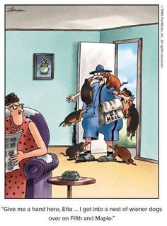 Gary Larson, The Far Side, Cool Photos, Cute Animals, Painting, Art, Signs, Pretty Animals, Art Background