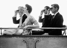 Dovima in the Opera Box, William Helburn, c. 1961, photograph