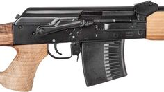 """Probably better than a PSL, maybe on par with a SVD Druganov -- Russian Vepr Rifle 7.62x54R Square Back w/20-1/2"""" BBL & Integrated Sights #VSB54R-20-02.  Heavy barrel. RPK receiver.  Threaded (capped) muzzle, for easy install of muzzle device. Accepts 10 round magazines. Side scope mount rail for optics mounting & integrated back-up iron sights. Plus, it's a Kalishnikov, so it's a tank for durability, dependability."""