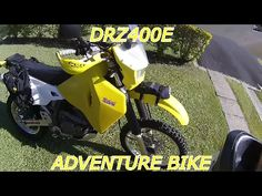 DRZ400E ADVENTURE BIKE MODS AND ADD ONS - YouTube Off Road Bikes, Motorbikes, Offroad, Trail, Adventure, Street, Classic, Vehicles, Youtube