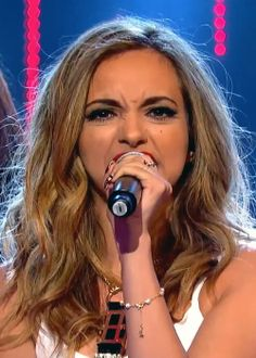 "jade thirlwall 2014 | Jade Thirlwall of Little Mix performing ""Word Up"" at Sport Relief ..."