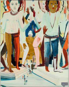 JULES DE BALINCOURT, PAINTING, ART