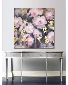 Extra large original wall art Large pink abstract canvas painting Blush and gold bedroom decor Peony painting Contemporary canvas art by ArtByIG on Etsy Blush And Gold Bedroom, Gold Bedroom Decor, Bedroom Art, Peony Painting, Painting Edges, Painting Art, Painting Abstract, Acrylic Paintings, Abstract Canvas Wall Art
