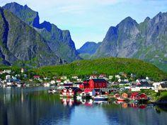 25Preciosos pueblos que son demasiado lindos para ser reales. Reine, Noruega