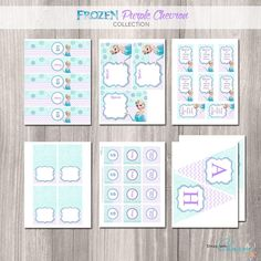 Frozen Birthday Party Package Frozen Birthday by StyleswithCharm