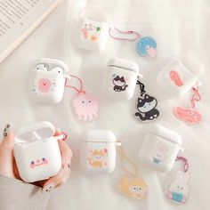 Bluetooth earphone Case for Airpods Silicone cute accessories for airpods 2 protection cover with keychain cartoon Smiley face - AliExpress Cute Desktop Wallpaper, Apple Airpods 2, Accessoires Iphone, Ipad Accessories, What In My Bag, Earphone Case, Fashion Design Drawings, Ipod Cases, Cute Cases