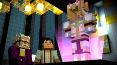 Sneak Peek photos of Minecraft story mode episode 8, coming out this Tuesday. IM SO EXCITED!!!!!!!