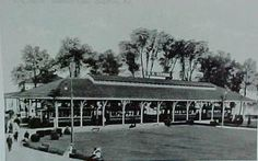 THEN: THE TROLLEY STATION  From the opening of the park in 1906 until its later years in the 1940's, the park was only accessible by Trolley.