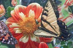 japanese art quilt  | Detail: Crossroads Art Quilt by Barbara Barrick ... | art quilt ideas