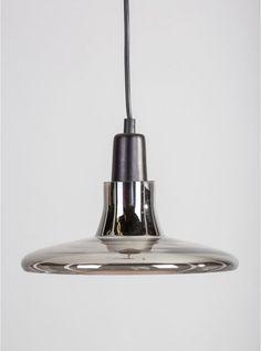 Olsi smoky glass pendant light