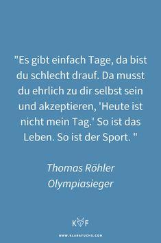 Olympiasieger Thomas Röhler über Ziele, Motivation und Performance - Klara Fuchs Olympia, Benefits Of Running, Mental Training, Triathlon Training, Sport, Motivation, Get In Shape, Have Fun, Stress