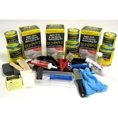 Bathroom Makeover Kit how to refinish cracked resin bathroom vanity sink basins http