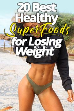 These healthy superfoods for weight loss are incredible! Lose weight by incorporating these metabolism boosting, fat annihilating superfoods into your diet. Best Weight Loss Plan, Weight Loss Help, Start Losing Weight, How To Lose Weight Fast, Core Workout Challenge, Best Weight Loss Exercises, Superfoods, Best Cardio, Workout For Beginners