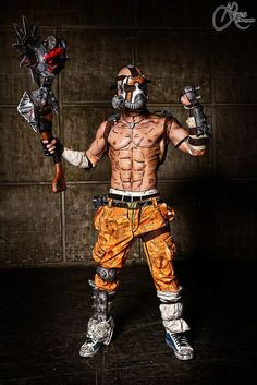 Psycho Krieg - Borderlands 2 Cosplay by Leon Chiro by… Video Game Cosplay, Epic Cosplay, Male Cosplay, Amazing Cosplay, Cosplay Costumes, Halloween Costumes, Cosplay Ideas, Halloween 2017, Costume Ideas