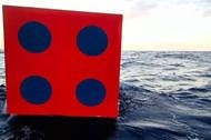 Dice on the open sea, gambling & luck, and the DNA of an artist's flotation.