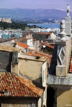 Rooftops of Antibes ~