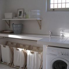 Basement Laundry Design, Pictures, Remodel, Decor and Ideas - page 4