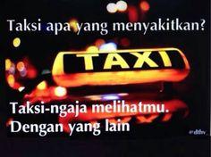 Taksi yang menyakitkan #Humor