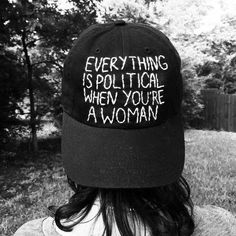 Politics aren't separate from daily life. The only people who think that are privileged in every way.