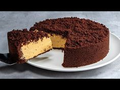 No baking and no gelatin! Perfect cake recipe for the morning coffee!| Cookrate - YouTube Pastry Recipes, Baking Recipes, Cake Recipes, Perfect Cake Recipe, Dessert Mousse, Buttercream Recipe, Breakfast Bites, No Bake Desserts, No Bake Cake