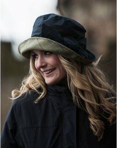 79d694356dd Ridlington Rain Hat Navy Country Fashion