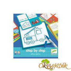 Rajzolás lépésről lépésre - Artur and CO - Djeco (BO) Games, Plays, Game, Spelling, Gaming