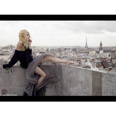 """""""La Belle et La Fete"""": Dree Hemingway by Jean-Baptiste Mondino for French Elle"""