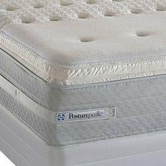 Cal King Sealy Posturepedic Cooper Mountain Plush Euro Pillowtop Mattress By 1007 00 This