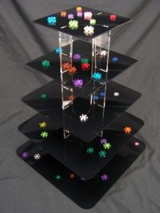 5 Tier  Square Black Acrylic Cup Cake  Pastry Display Pastry Display, Cupcake Tier, Black Acrylics, Pastry Cake, Bake Sale, Butterfly Wings, Plexus Products, Mother Nature, Graduation