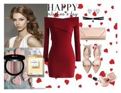 Valentine's Day Outfit Ideas 3-Date Night by pinkswanbeauty on Polyvore featuring Chicwish, Dorothy Perkins, Fallon, Jewelonfire and Edward Bess  #Valentine's Day  #valentines day  super easy Valentine's Day treats-no bake  #v-day #valintain  #CHOCOLATE #NUTELLA #STRAWBERRIES #CHOCOLATE COVERED STRAWBERRIES #NoBake #Cupcakes #CHOCOLATECOVEREDSTRAWBERRIES #valintainday #vday #valentinesday