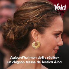 Retrouvez l'intégralité de la vidéo sur Voici.fr ! Jessica Alba, Black Grunge, Brown Blonde Hair, Grunge Hair, Voici, Hair Color, Architecture, Hair Styles, Belle Hairstyle