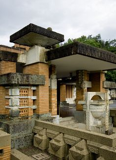 Imperial Hotel. Frank Lloyd Wright. Tokyo, Japan. 1916. (Demolished 1967)