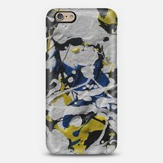 """""""BLUE & YELLOW"""" phone case. Available for different types of phones."""