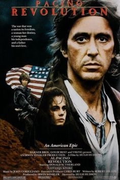 AL PACINO REVOLUTION vintage movie poster AMERICAN REVOLUTIONARY WAR 24X36 Brand New. 24x36 inches. Will ship in a tube. - Multiple item purchases are combined the next day and get a discount for dome