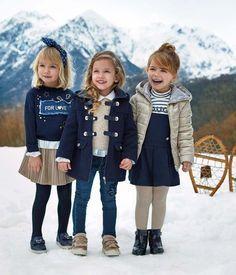 New Fashion Kids Mini Fashionista Ideas Little Girl Outfits, Cute Outfits For Kids, Little Girl Fashion, Toddler Girl Outfits, Toddler Fashion, Girls Winter Fashion, Boy Fashion, Preppy Kids, Outfits Niños